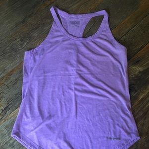 Patagonia Nine trails tank, size small